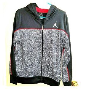 Boy's Jordan Zip Up Hoodie Jacket XL